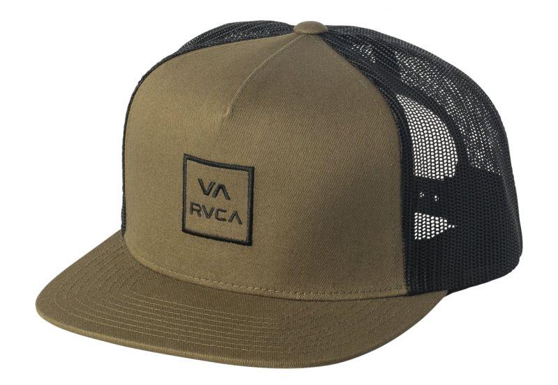 RVCA All the Way Trucker Hat III Olive Moss