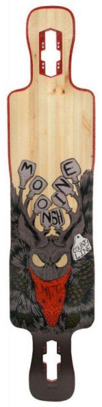 "MOONSHINE County Line Trough 41.5"" - Longboard deck"