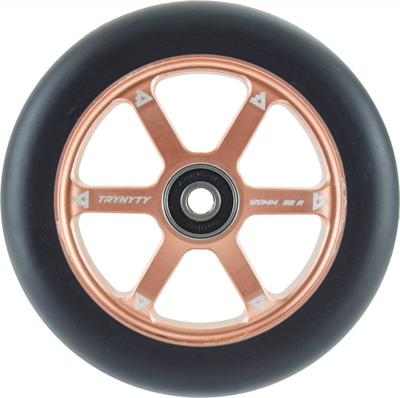 TRYNYTY Armadillo 120mm Wheels Bronze - 2er-Pack Stunt Scooter Rollen