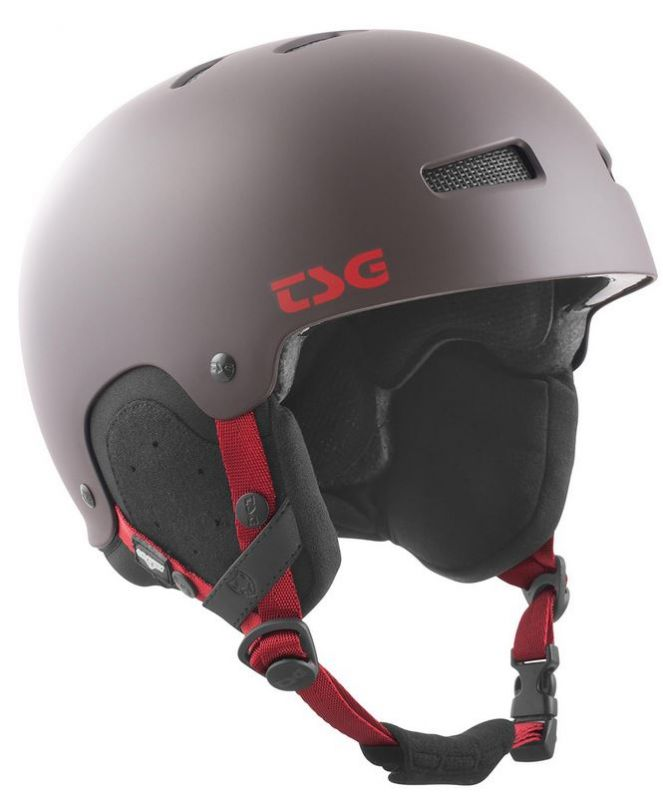 TSG Gravity Satin Black Choclate S/M - Snowboardhelm