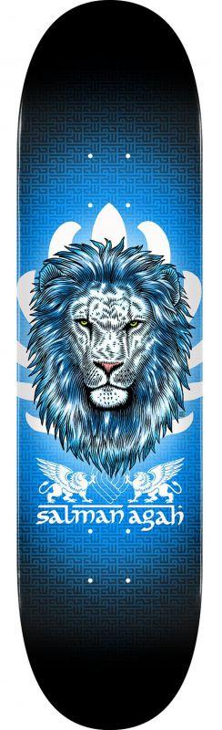 """POWELL PERALTA Salman Agah Lion 8"""" Popsicle - Skateboard Komplett"""