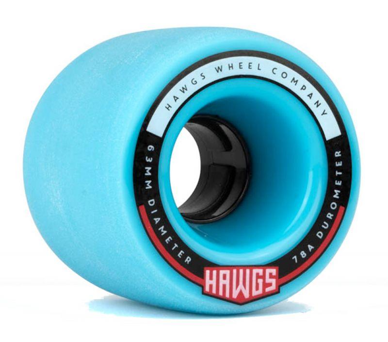 HAWGS Fatty Hawgs 78a 63mm Blue