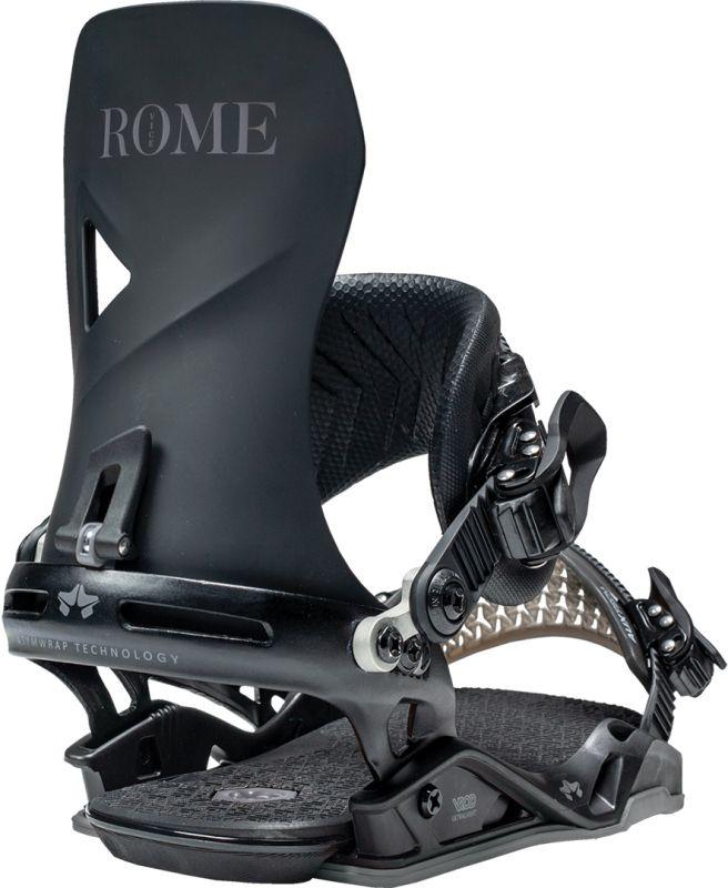 ROME Vice Black Snowboard-Bindung 2021