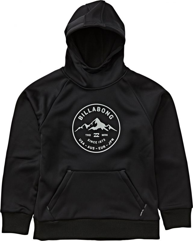 BILLABONG Downhill Hood - Black - XXL - Snowboard Kapuzenpullover