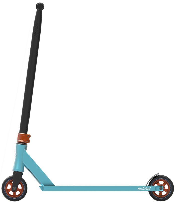 NORTH SCOOTERS Hatchet 2020 Light Blue/Copper - Stunt Scooter Komplett