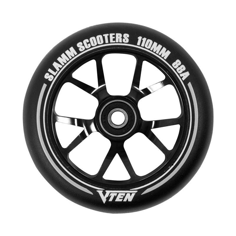 SLAMM V-Ten II Wheels 110mm Black - Scooterrollen