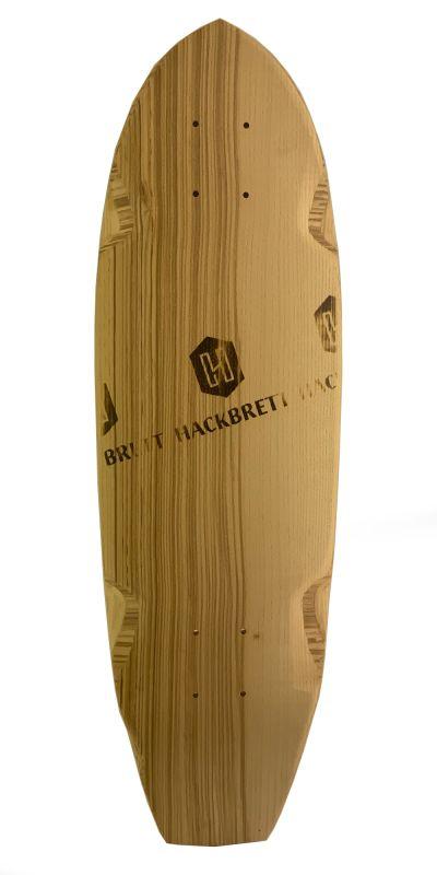 HACKBRETT Mini Feuer Kick - Minicruiser Deck
