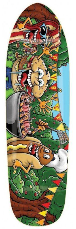 "EARTHWING Payback BBQ 9.25"" - Longboard Deck"
