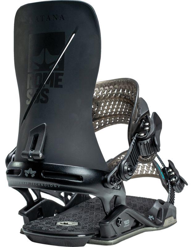 ROME Katana Black Snowboard-Bindung 2021