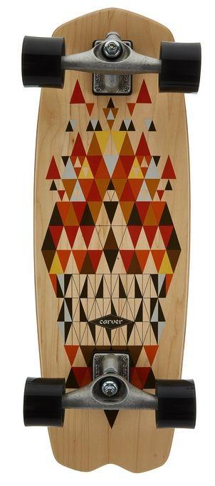 """CARVER Spectra CX 28,25"""" Surfskate Komplett"""