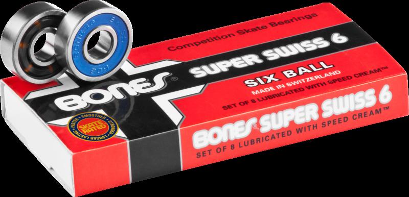 BONES SUPER SWISS 6-Ball - Kugellager
