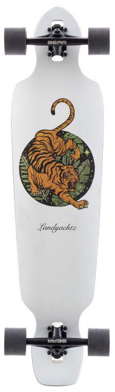 LANDYACHTZ Battle Axe 38 Paper Tiger - Longboard Komplett