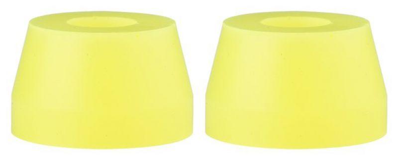SUNRISE Gummies Double Cone 85a Yellow - Bushings/Lenkgummis
