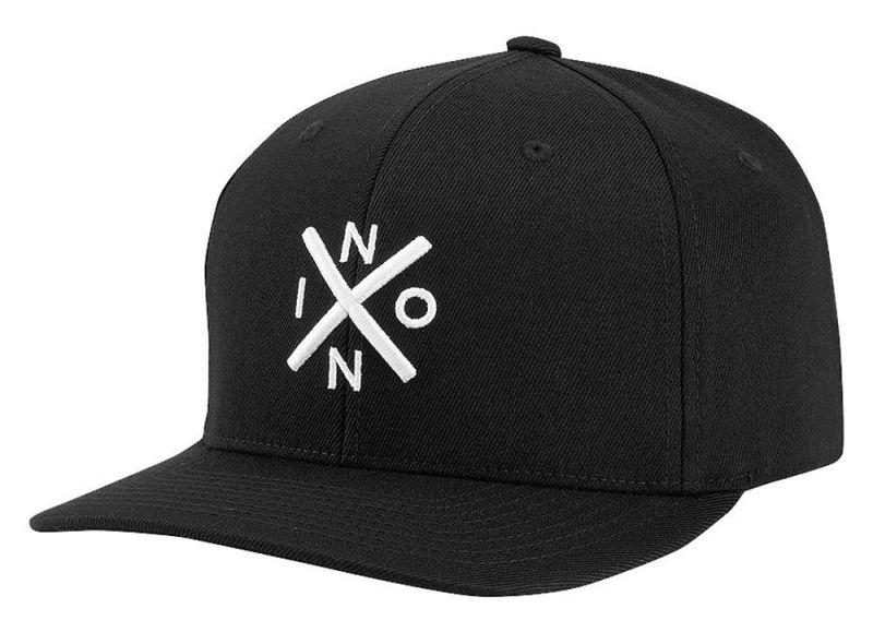 NIXON Exchange Flex Fit Cap - Black/White - L/XL
