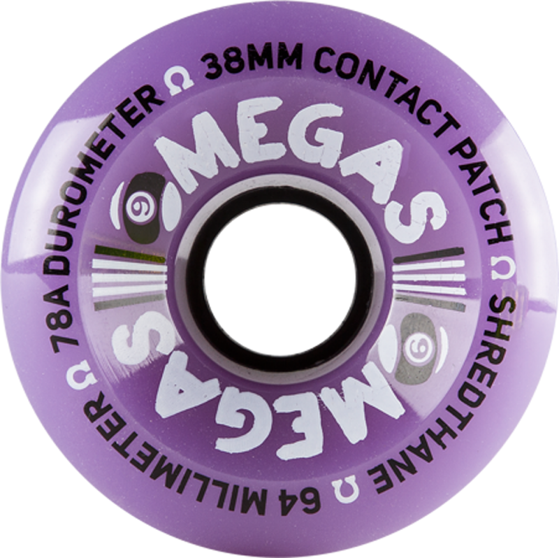 SECTOR 9 Omegas 64mm 78a Purple