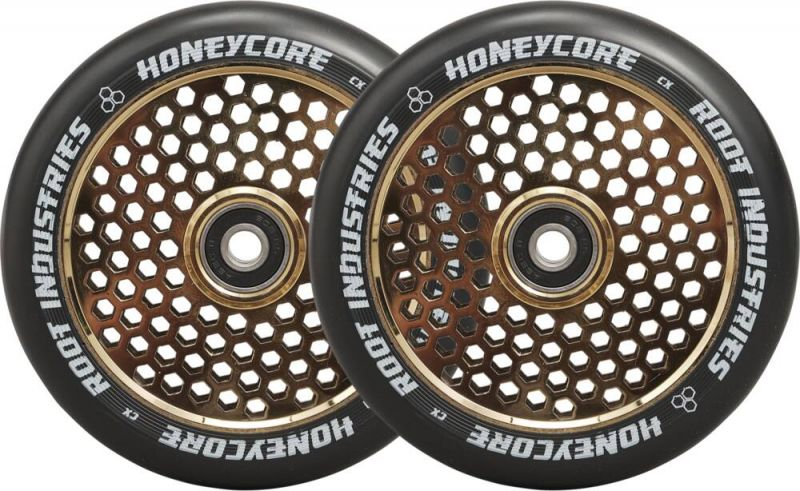 ROOT INDUSTRIES Honeycore 120mm Gold Rush - 2er-Pack Stunt Scooter Rollen