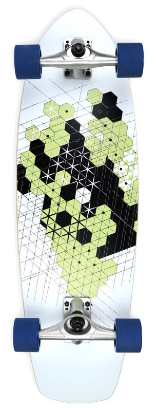 "IMPACT Tokyo Sketch Smooth Carve 31.75"" - Surfskate Komplett"