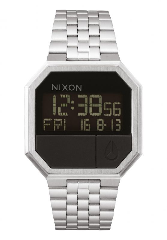 NIXON Re-Run Black - Armbanduhr