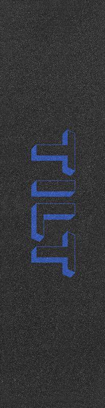 """TILT 3D Logo 6.5"""" Blue - Stunt Scooter Griptape"""