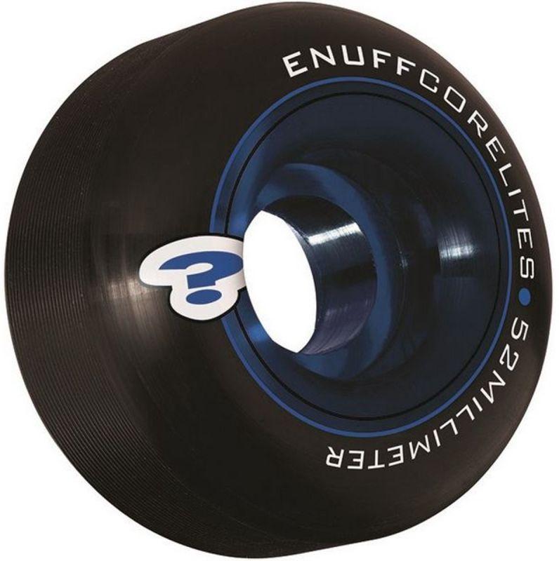 ENUFF Corelites Wheels 52mm 101a Black/Blue - Skateboardrollen