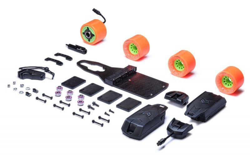UNLIMITED X LOADED Cruiser Kit - Elektroantrieb für Longboards