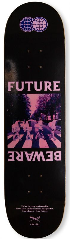 IRIEDAILY Beware Future Board - Skateboard Deck