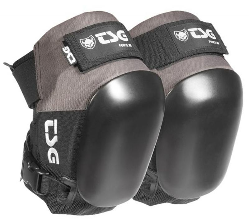 TSG Kneepad Force III Coal Black - Knieschoner