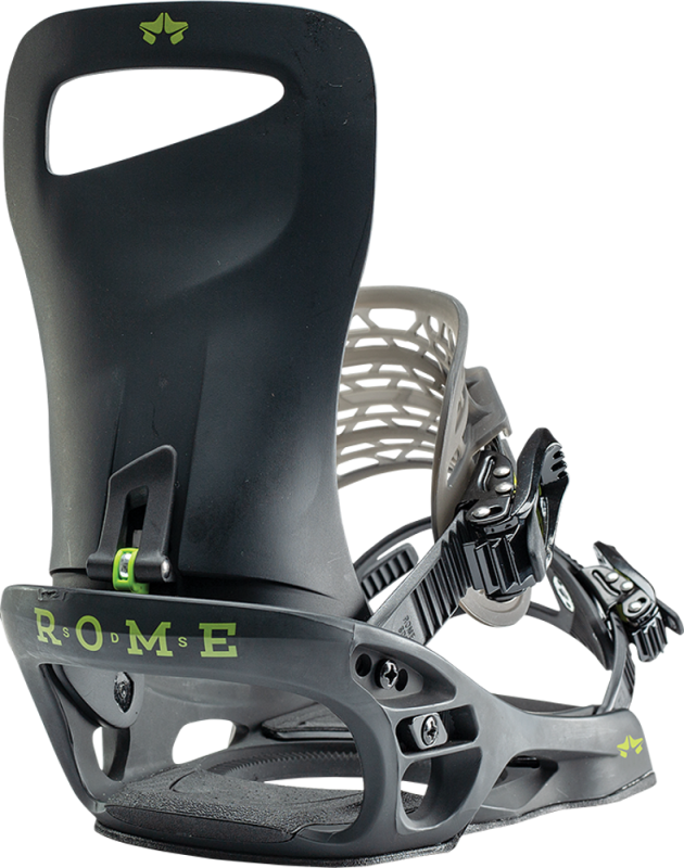 ROME Slice Black L/XL - Snowboard-Bindung 2020