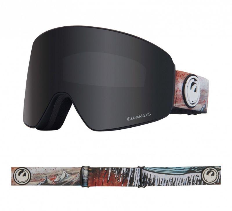 DRAGON PXV - Bryan Iguchi Signature with Lumalens Dark Smoke + Lumalens Flash Blue Lens - Snowboardb