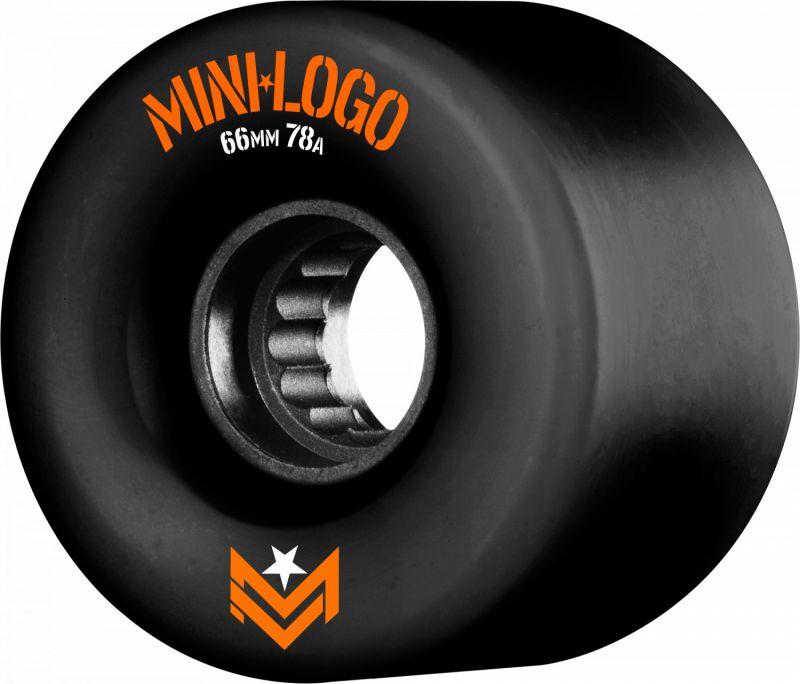 MINI LOGO A.W.O.L. A-Cut 66mm 78a Black