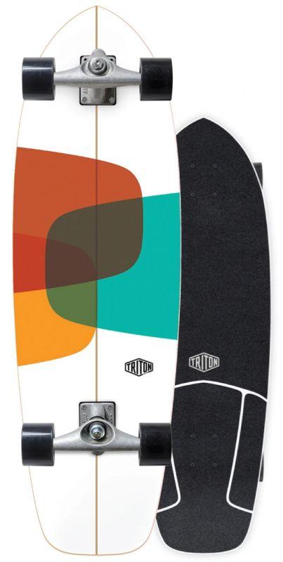 "CARVER X TRITON Prismal 32"" - Surfskate Komplett"