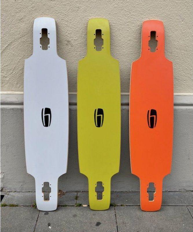 OLSON & HEKMATI DD100 Basic Deck - Longboard Deck