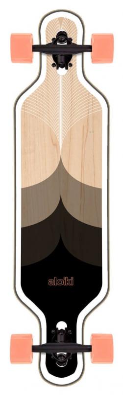 """ALOIKI Stanley Drop Through 36"""" - Longboard Komplett"""