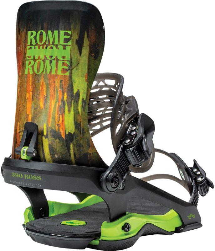 ROME 390 Boss Camo Snowboard-Bindung 2021
