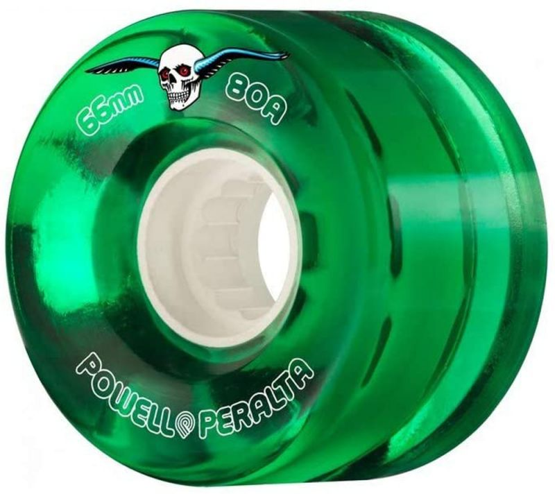 POWELL PERALTA Clear Cruisers 80a 66mm Green