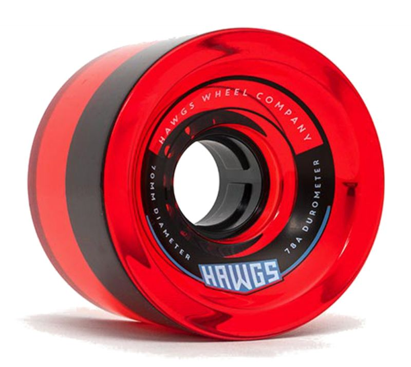 HAWGS 70's 78a Clear Red