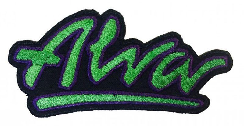ALVA OG Logo Patch Green - Aufnäher