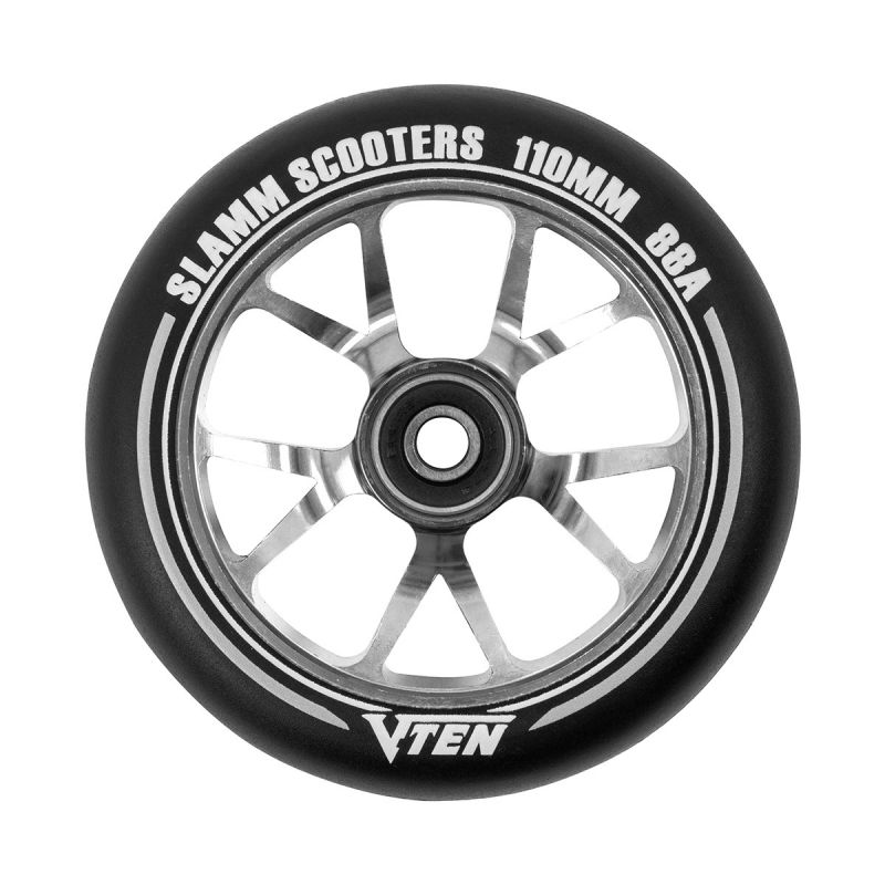 SLAMM V-Ten II Wheels 110mm Titanium - Scooterrollen