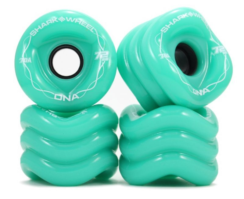 SHARK WHEELS DNA 72mm 78a Turquoise