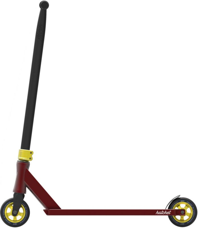 NORTH SCOOTERS Hatchet 2020 Wine Red/ Gold - Stunt Scooter Komplett