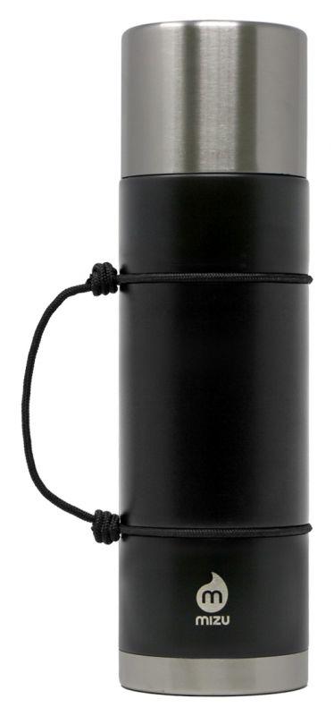 MIZU D7 Black - 670ml Thermosflasche