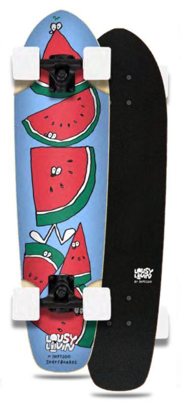 INPEDDO X LOUSY LIVIN Melon - Minicruiser Komplett