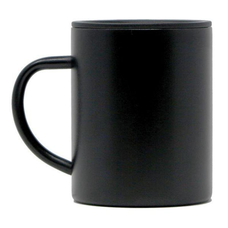 MIZU Camp Cup Black - Isolierte Edelstahltasse