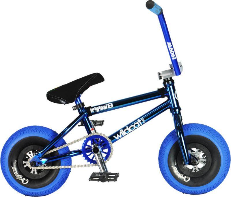 WILDCAT Joker Original 2C Mini BMX Bike - Blue