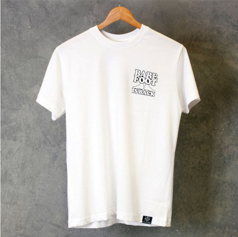 PENNY Barefoot Is Back Shirt White - XL