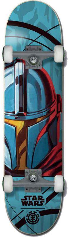 """ELEMENT X Star Wars Mandalorian  7.75"""" - Skateboard Komplett"""