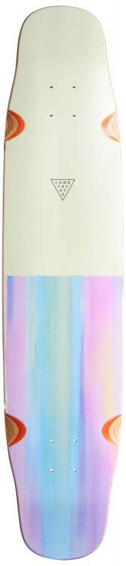 "LANDYACHTZ Tiny Danza Watercolor 40"" - Longboard Deck"