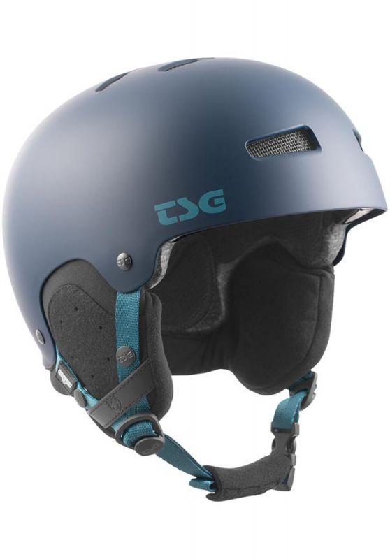 TSG Gravity Solid Color Satin Midnight Blue L/XL - Snowboardhelm