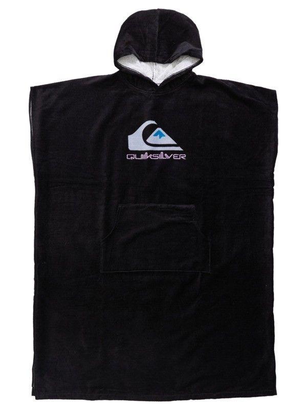 QUIKSILVER Hoody Towel Black - Surf Poncho