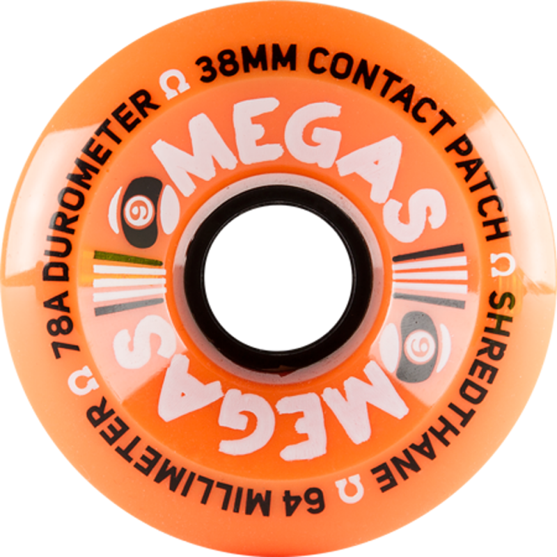 SECTOR 9 Omegas 64mm 78a Orange